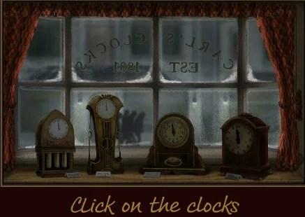 Clockwork Celebration - animated Flash ecard by Jacquie Lawson