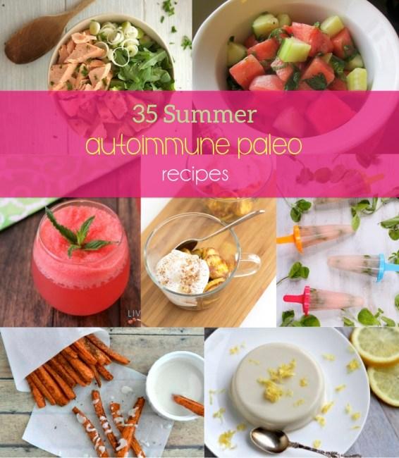 35 Summer Autoimmune Paleo Receips