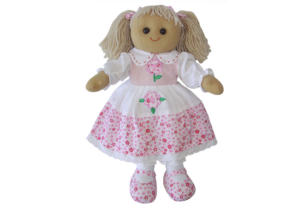 Best Homemade Advent Calendars Fine Craft Guild Pink Floral Rag Doll Plaid Tidings