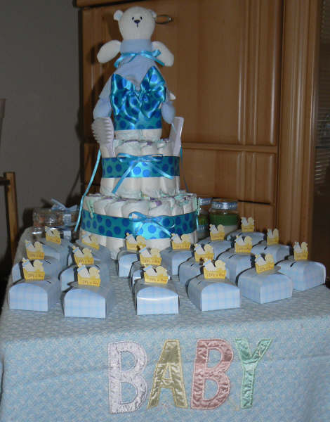 Its a Boy Baby Shower Theme, Diaper Cake  More!