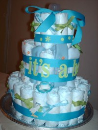 Baby Shower Cakes: Baby Shower Pamper Cake Ideas