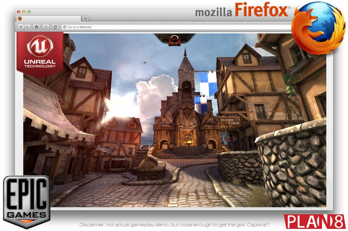 Mozilla and Epic Games Port Unreal 3 Engine to Javascript and WebGL
