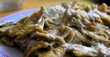receta chilaquiles veganos