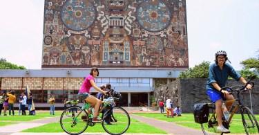 la previa a un viaje en bici