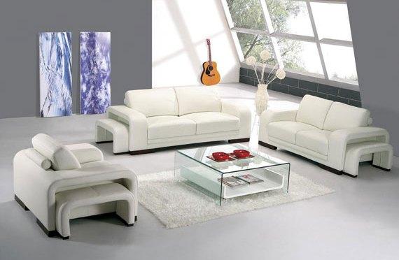 decoración de living moderno