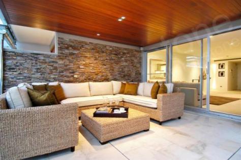 Revestimiento de piedra elegancia y solidez - Fuentes para interiores ...