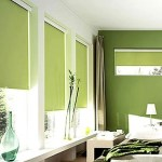 Cortinas black out en color verde