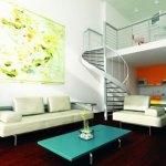 Diseño de lofts con estilo moderno