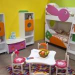 Muebles infantiles con puntas redondeadas