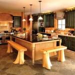 Decoración de cocinas rústicas con elementos naturales