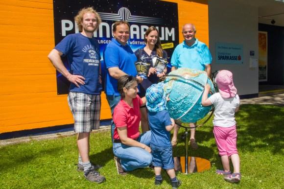 Das Team vom Planetarium Klagenfurt freut sich auf Ihren Besuch!