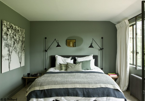 m lange de styles dans une maison de campagne planete deco a homes world. Black Bedroom Furniture Sets. Home Design Ideas