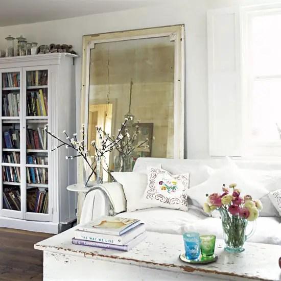 un cottage anglais tout blanc planete deco a homes world. Black Bedroom Furniture Sets. Home Design Ideas