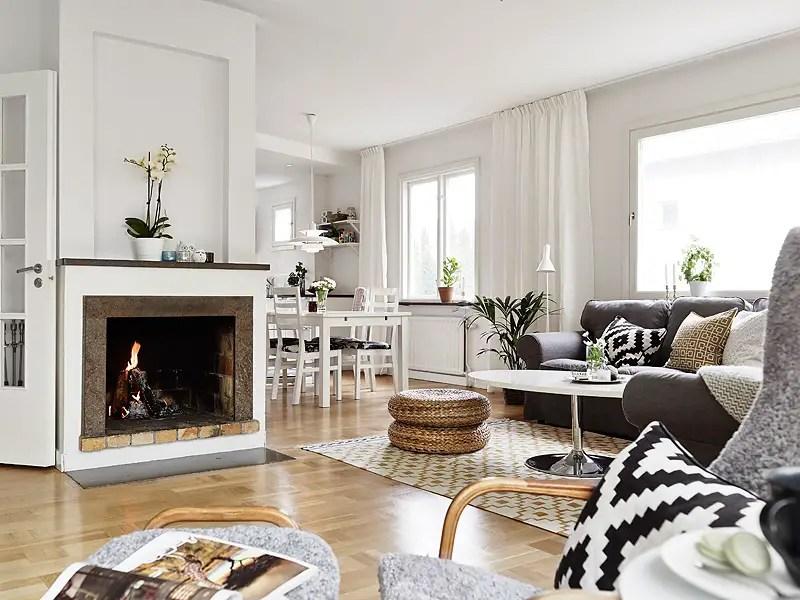 au coin de la chemin e en su de planete deco a homes world. Black Bedroom Furniture Sets. Home Design Ideas