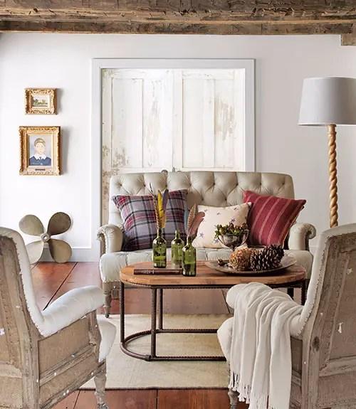 un cottage dans le connecticut planete deco a homes world. Black Bedroom Furniture Sets. Home Design Ideas