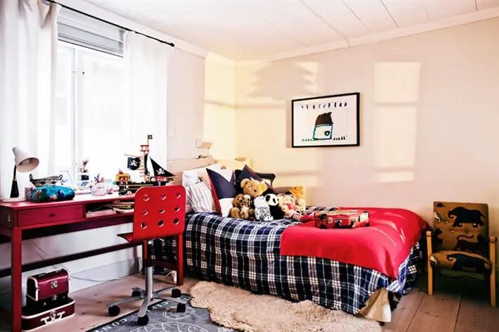 Ambiance chaleureuse dans une maison suédoise ancienne  PLANETE DECO ...
