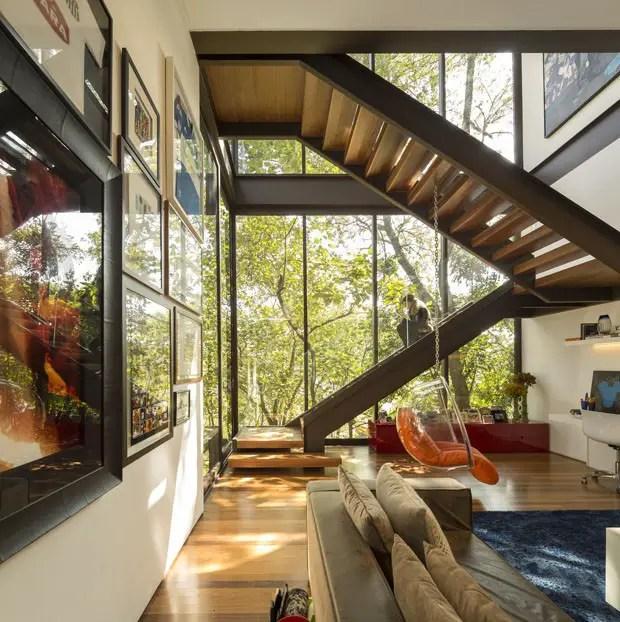 Une maison d 39 architecte entre art design et nature for Decoration maison nature