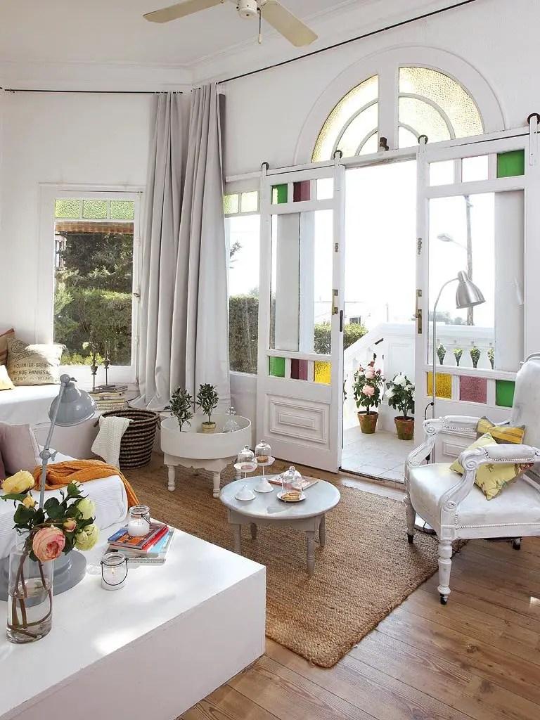 Una casa con alma en barcelona moon dandelion - La casa vintage ...