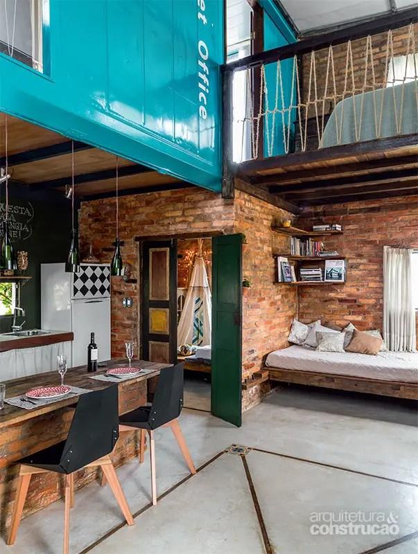Vivre dans une maison diff rente au br sil planete deco for Vivre container