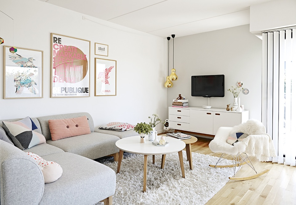 Jen and beauty inspiration d co un esprit scandinave pastel for Chambre scandinave pastel