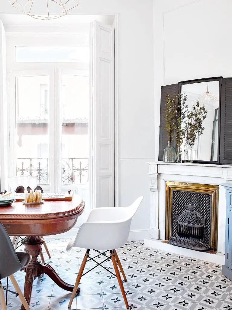 Un appartement entre vintage et classique planete deco a homes world blog - Deco appartement vintage ...