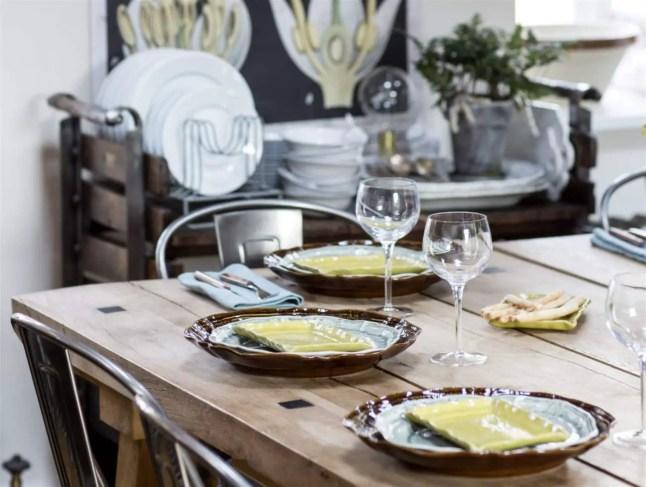 une cuisine rustique et scandinave planete deco a homes. Black Bedroom Furniture Sets. Home Design Ideas