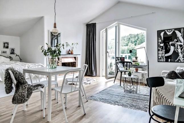 ce n est pas parce qu on a un petit appartement planete deco a homes world bloglovin. Black Bedroom Furniture Sets. Home Design Ideas