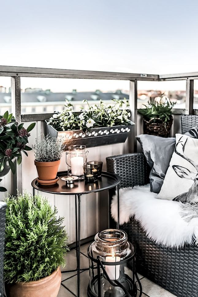 Balcon Hygge Pour Un Appartement Familial Planete Deco A Homes World Bloglovin