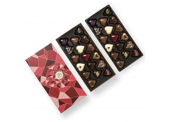 Luxurious Heart Shaped Chocolate Box Created For Lovers