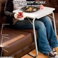 Table pliable multifonction - Achat Table d'appoint ...