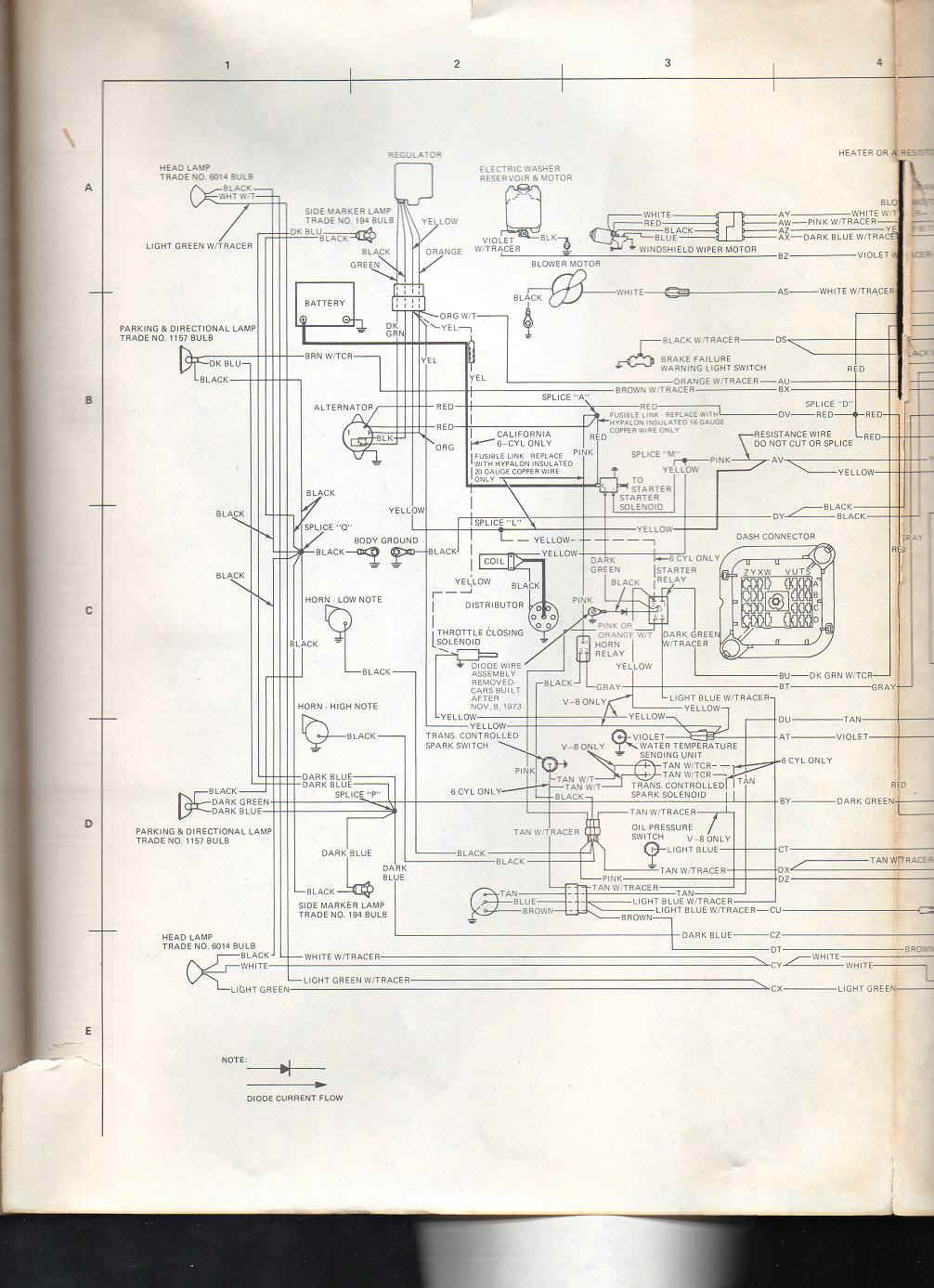 1974 amc javelin wiring diagram wiring diagram update amc electrical troubleshooting