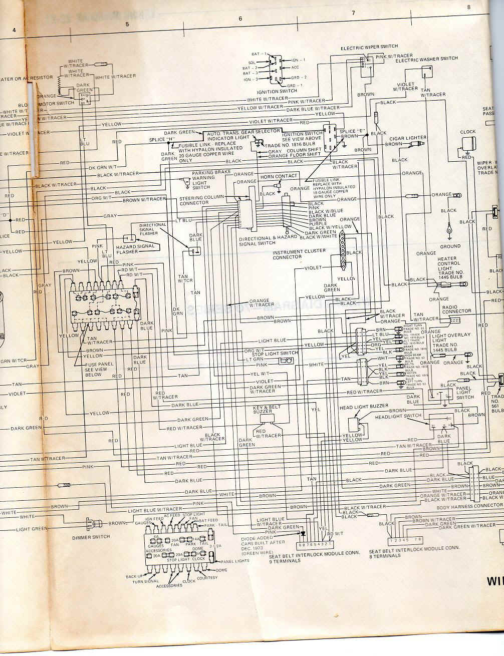 amc hornet wiring diagram