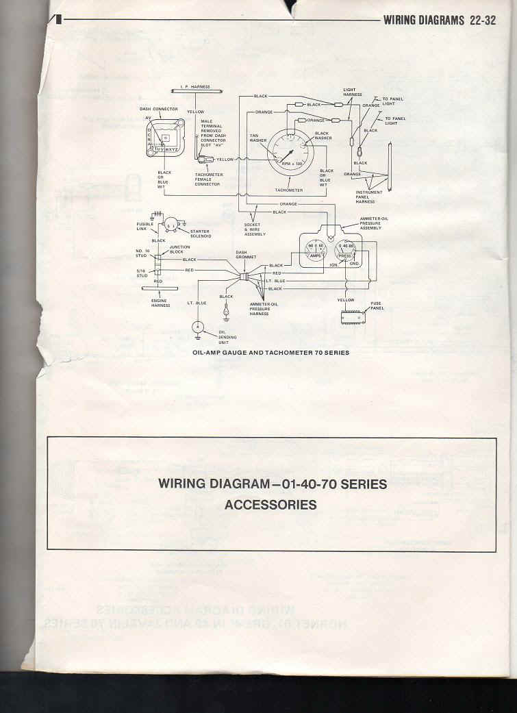 Amc Javelin Tach Wiring Diagrams Wiring Schematic Diagram