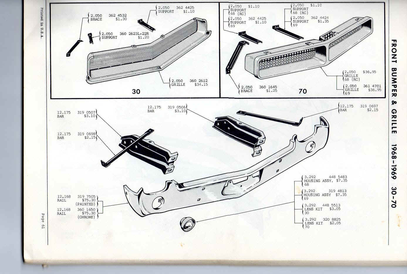 tail light wiring diagram as well 1968 amc amx wiring
