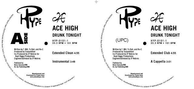 "Ace High ""Drunk Tonight – Single"""