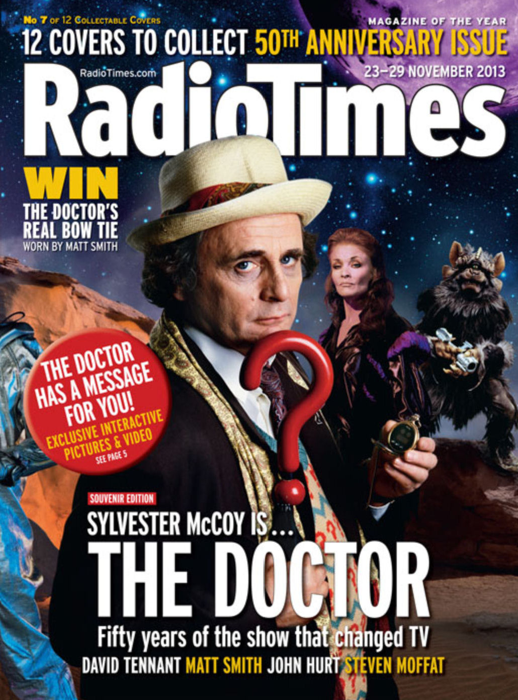 Free Animated Wallpaper For Android Tablet Radio Times 50th Anniversary Covers Planet Mondasplanet