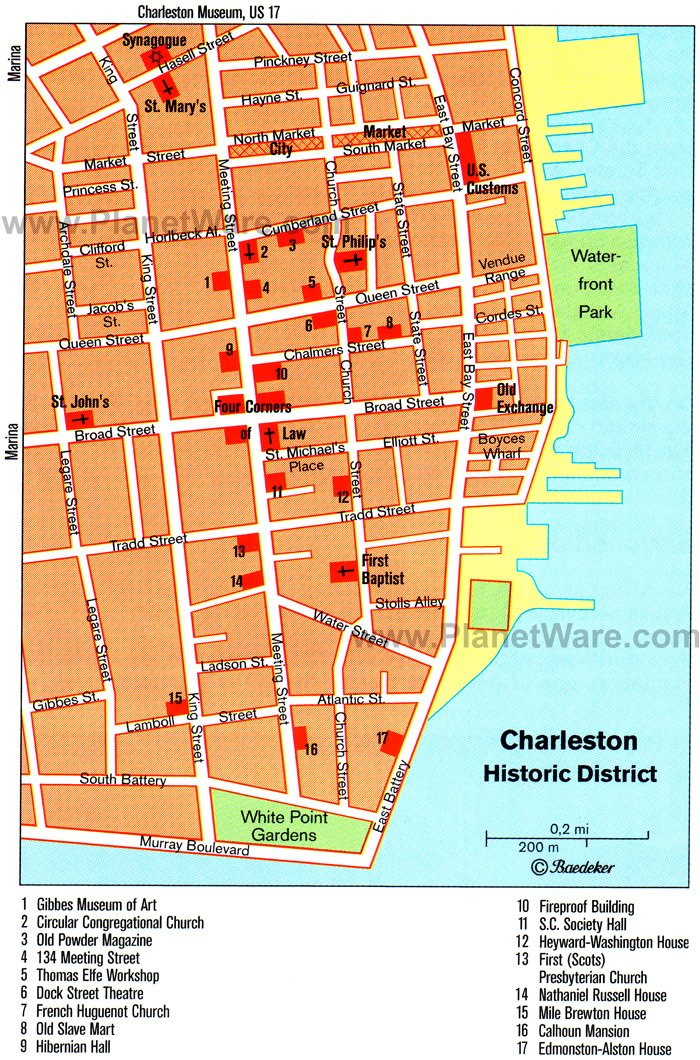 16 Top-Rated Tourist Attractions in Charleston, SC PlanetWare