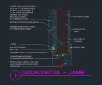 Sliding Door Section Cad - Sliding Door Designs