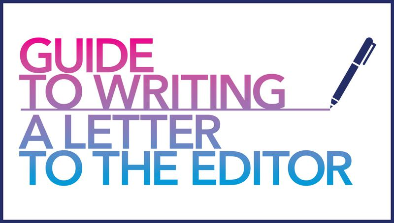 Write a Letter to the Editor Planned Parenthood of the Pacific