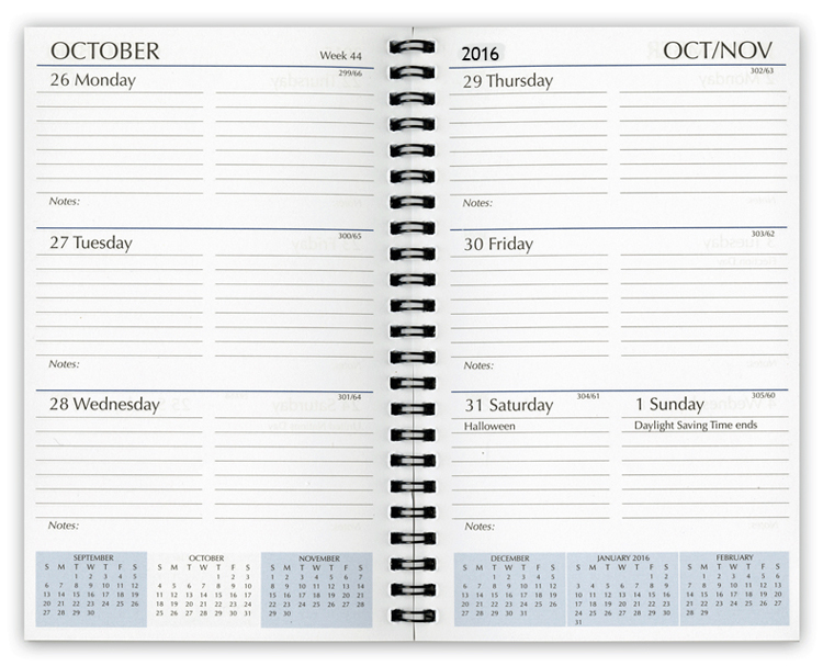 2019 Planner Refills, Weekly Planner Refill Inserts
