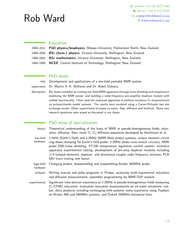 resume template for year 11 students