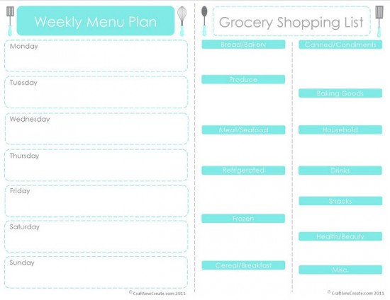 Free Meal Planner Template planner template free - menu planning template