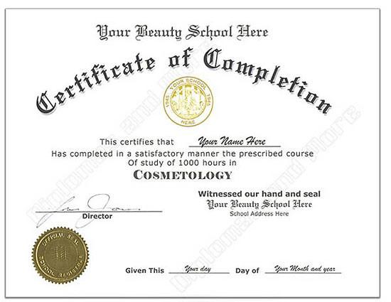 fake degree certificate template
