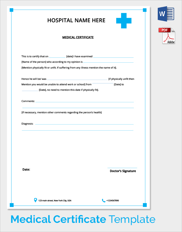 medical certificate for leave from doctor hgvi