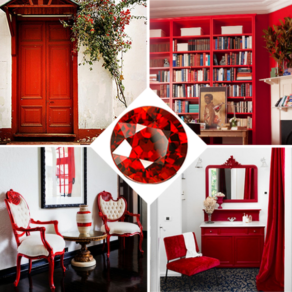 Red home decor for Red home decor