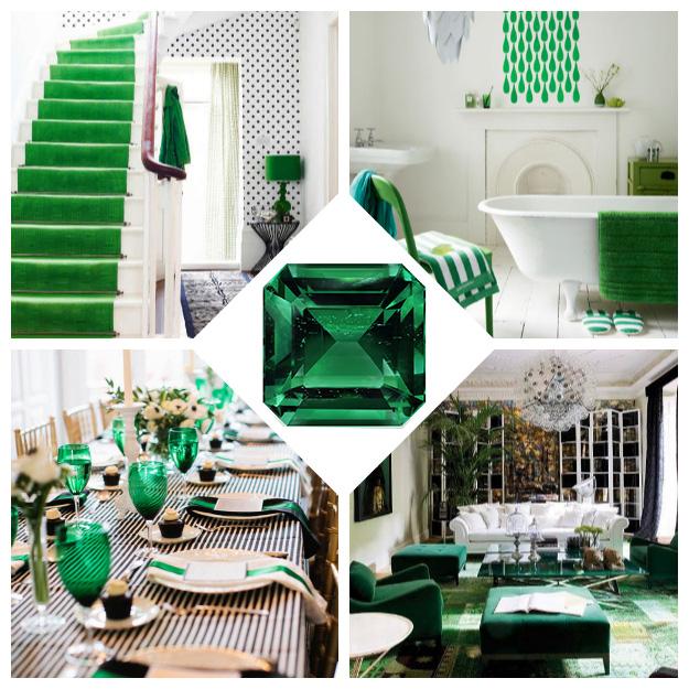 Emerald decor inspiration for Emerald green bathroom accessories
