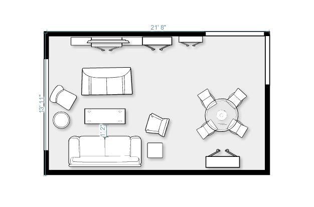 living room floorplan 4