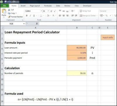 Loan Repayment Period Calculator | Plan Projections