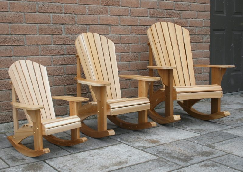 Adirondack Rocking Chair Woodworking Plans With Lastest