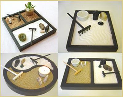 Jardín zen sencillo y hecho por ti